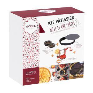 Kit 1001 tartes (1 moule à tarte, 6 tartelettes, 1 pèle-pommes)