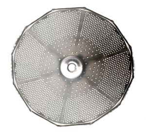 Grille 1,5 mm pour moulin n°3 inox