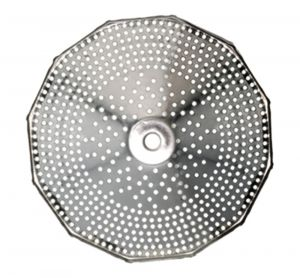 Grille 2,5 mm pour moulin n°3 inox