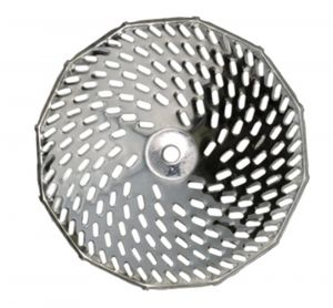 Grille 4 mm pour moulin n°3 inox
